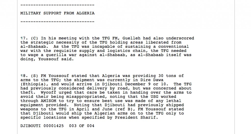 wikileaks_algeria_military_support_invading_somalia